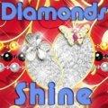 Ein Leuchtender Diamant