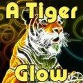 Ein Tigerleuchten
