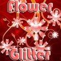 Blumen Glitter
