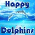 Glückliche Delphine
