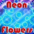 Fleurs néon