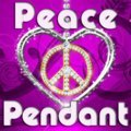 Pendentif paix