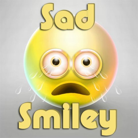 Trauriges Smiley