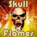 Totenkopf Flammen