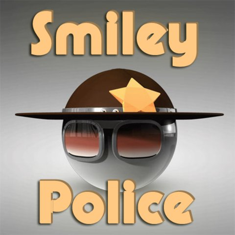 Smiley Polizei