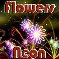 Blumen Neon