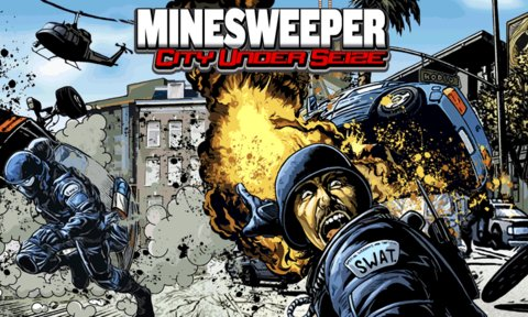 Mine Sweeper City Under Seize