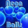 Neon Balls Blue