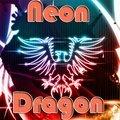 Neon Drachen