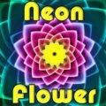Neon Blume