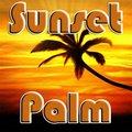 Sonnenuntergang Handfläche