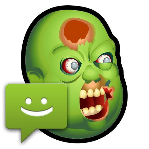 Pack d'autocollant horreur zombies WhatsApp